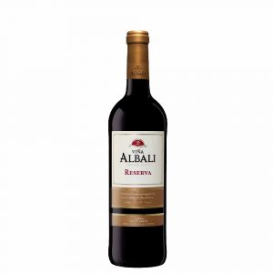 Botella Vina Albali Reserva Tinto