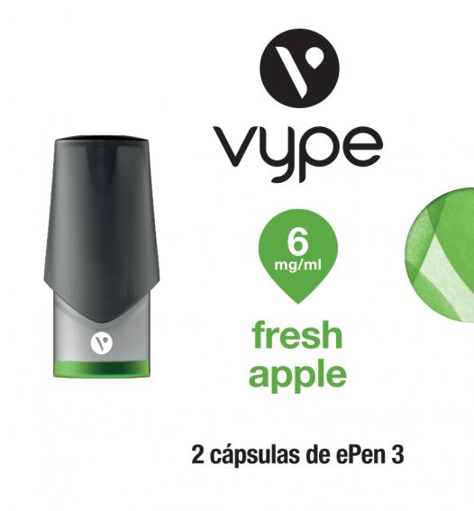 Vype eCap ePen 3 - Fresh Apple 6 mg/ml