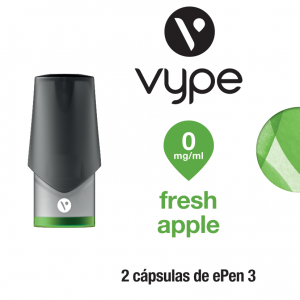 Vype eCap ePen 3 – Fresh Apple sin nicotina