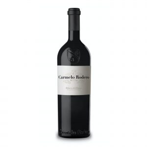 Botella de Vino Tinto Carmelo Rodero Reserva – Tempranillo / Cabernet – España –  Ribera del Duero