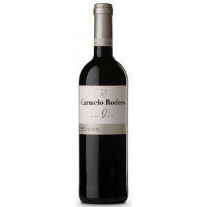 Botella de Vino Tinto Carmelo Rodero 9 Meses – Tempranillo / Cabernet – España – Ribera del Duero