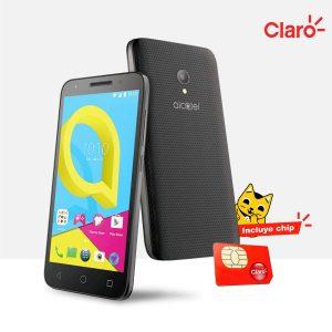 Celular Alcatel U5 con chip Claro
