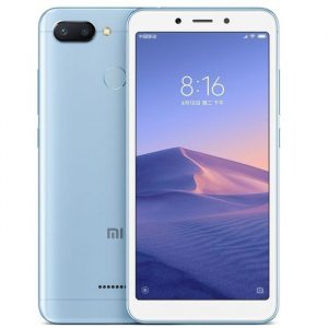 "Celular Xiaomi Redmi 6 5.45"" 4GB 64GB Color Azul"