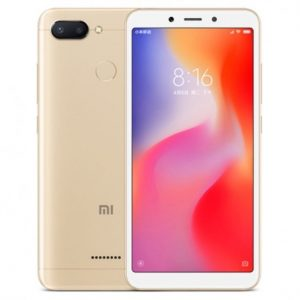 "Celular Xiaomi Redmi 6 5.45"" 4GB 64GB Color Dorado"
