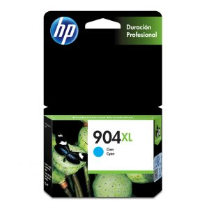 Cartucho de Tinta HP 904XL Alto rendimiento Color Cyan 4ml