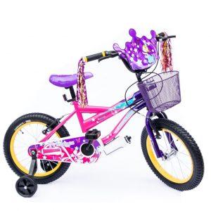 Bicicleta BMX Princess Rin 16 para Niña Color Rosado/Morado