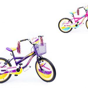 Bicicleta BMX R20 para niña