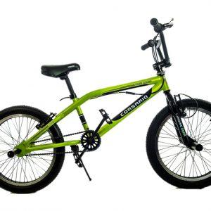 Bicicleta BMX XTC Rin 20 para Jovenes  Color Verde/Negro