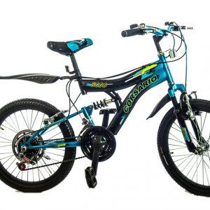 Bicicleta Montañesa 3000 Rin 20 Color Azul/Negro
