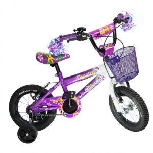 Bicicleta BMX Belle R12 para niña