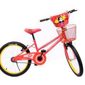 Bicicleta BMX Cross Rin 20 para Niño Color Rojo