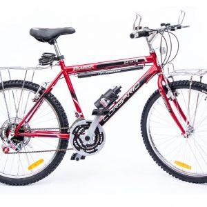 Bicicleta MTB 24 Tracker/Full Equipada Color Rojo/Negro