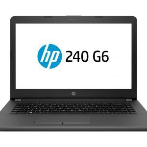 """Laptop HP 240 G6 Celeron 1.6GHz 4GB 500GB 14""""  W10Hom Color Gris"""