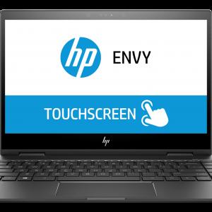 Laptop HP Envy x360 AMD Ryzen 3 2300U 2.0GHz 4GB 128GB SSD Color Cenizo Oscuro