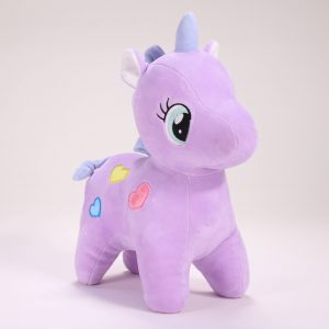 Peluche de Unicornio color lila