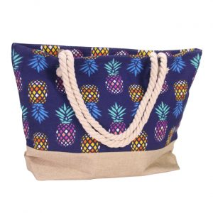 Bolsa con diseño de piña