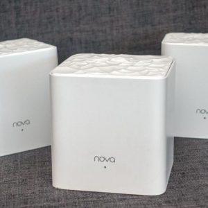 Extensores de Wi-FI Sistema Nova Mesh De Malla Marca Tenda (Paquete de 3 Puntos)