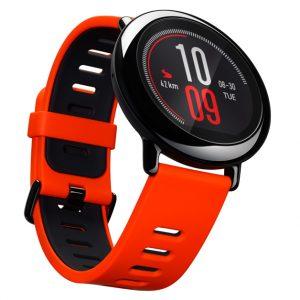 Reloj Xiaomi Amazfit Pace Color Rojo Con Negro