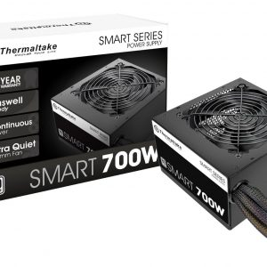 Fuente de Poder Thermaltake Smart de 700W 80 Plus White
