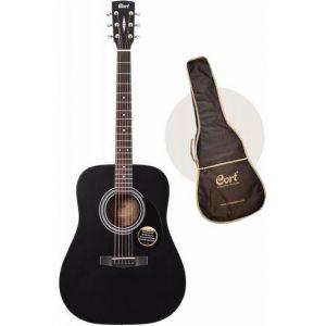Guitarra Acústica Cort AD810-BKS