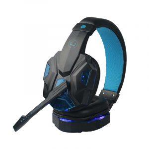 Audífonos Gaming USB con Micrófono Brave Unno Tekno HS7230BL