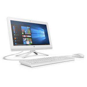 "Computadora de Escritorio Todo En Uno HP Celeron 4GB RAM 1TB 19.5"" Win10 Home"