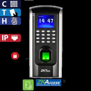 Control de Acceso por Huella, Tarjeta y Código ZKTeco
