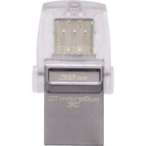 Memoria USB Kingston 32GB 3.0 DT microDuo OTG Type C