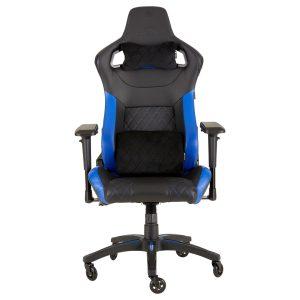 Silla Gaming CORSAIR T1 Color Negro con Azul