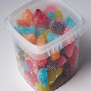 Cubo de 2.5 lbs. de dulces ácidos
