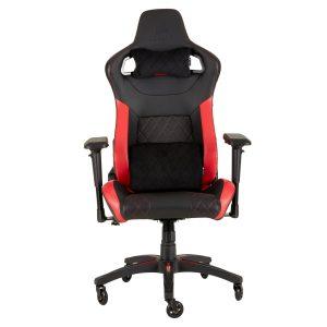 Silla Gaming CORSAIR T1 Color Negro con Rojo