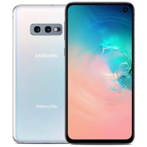 "Celular Samsung Galaxy S10e 6GB RAM 128GB 5.8"" Color Prisma Blanco"