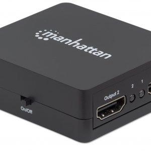 Video Splitter HDMI de 2 puertos 1080p marca Manhattan