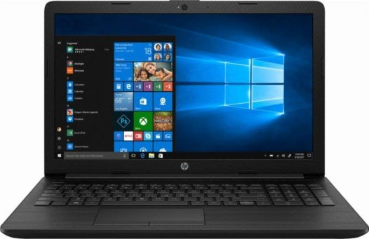 "Laptop HP AMD A6 4GB RAM 1TB DVDRW 15.6"" Windows 10H"