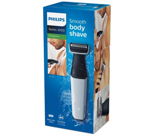 Afeitadora Corporal resistente al Agua ideal para Ducha marca Philips BG3005/15
