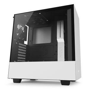Case Gaming NZXT H500 Blanco Matte  ATX Sin Fuente