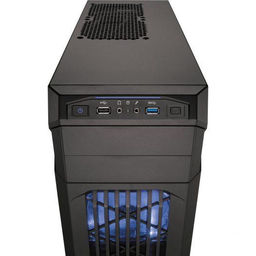 Case Corsair Carbide Series SPEC-01 Ventilador Color Azul Sin Fuente