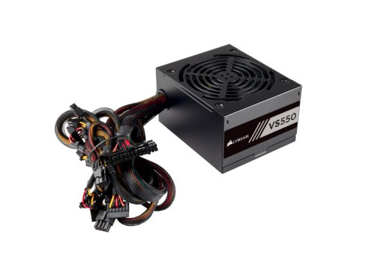 Fuente de Poder Corsair VS 550W 80 Plus White