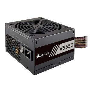 Fuente de Poder Corsair VS 550W 80 Plus White