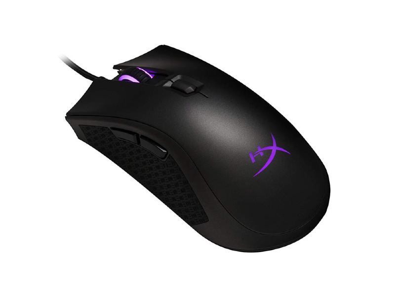 Mouse Alámbrico Gaming HyperX Pulsefire Core Color Negro