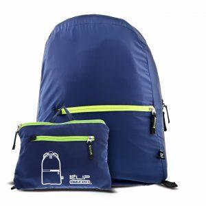 Mochila Plegable Klip Xtreme Lite Pack Color Azul