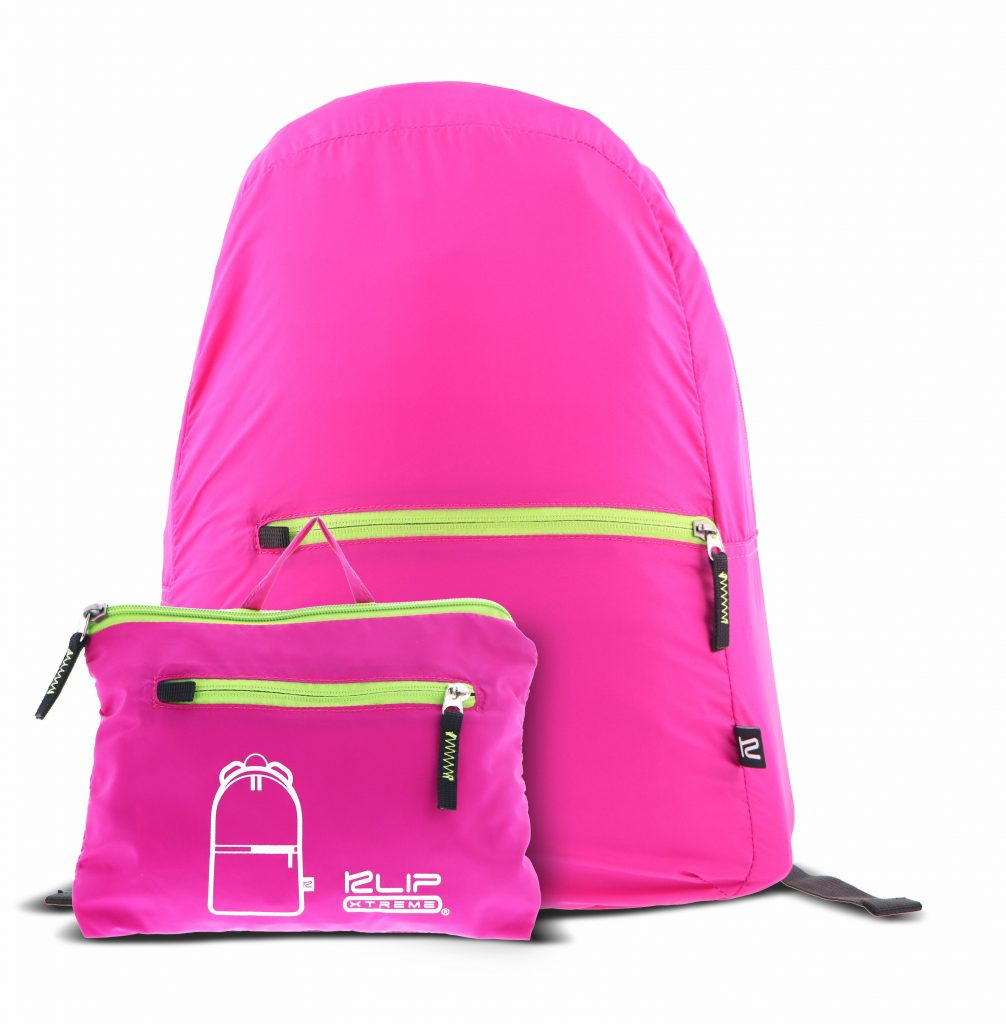 "Mochila para Laptop Plegable Klip Xtreme Lite Pack de 16"" Color Rosado"