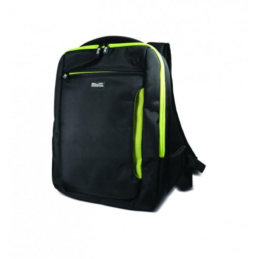 """Mochila para Laptop Marca  Klip Xtreme de 14.1"""" Color Negro/Verde"""