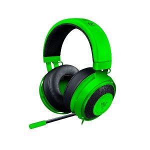 Audífonos Alámbricos Gaming Razer Kraken Pro V2 Color Verde