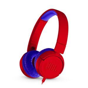 Audífonos Alámbricos JBL Junior Kids Color rojo araña