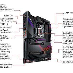 Motherboard Asus Rog Maximus Gaming Kemik Xi Code Atx Guatemala K1JTlcF3