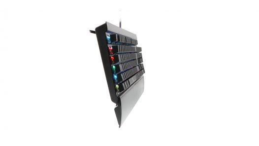 Teclado Alámbrico Primus Gaming BALLISTA PKS-202S Switch Márron