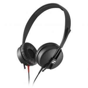 Audifonos Sennheiser HD25 Light color negro