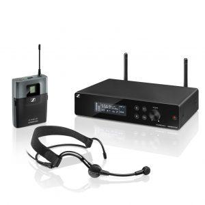 Micrófono de diadema Sennheiser XSW 2 ME3 A inálambrico 12 canales