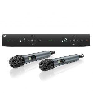 Micrófono de mano Sennheiser XSW 1 825 DUAL B  inálambrico 2 canales